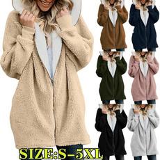 warmjacket, hooded, Winter, cardigan