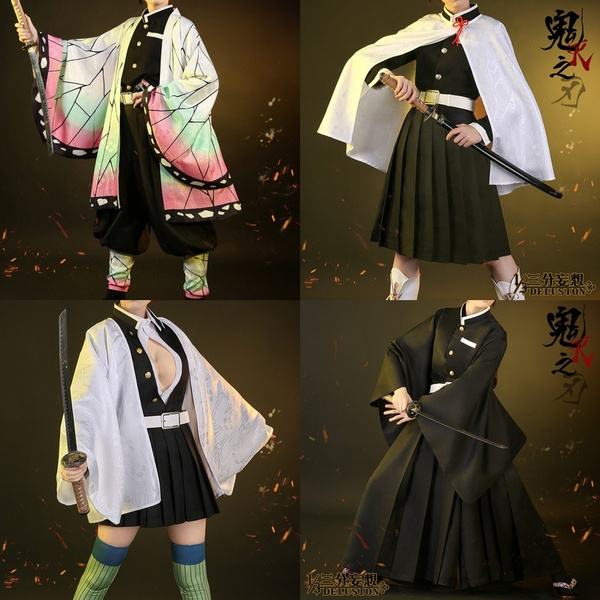 Anime Demon Slayer Kimetsu No Yaiba Kochou Shinobu Kanroji Mitsuri Uniforms Cosplay Costume Wish Zach aguilar, allegra clark (child) (english). anime demon slayer kimetsu no yaiba kochou shinobu kanroji mitsuri uniforms cosplay costume wish