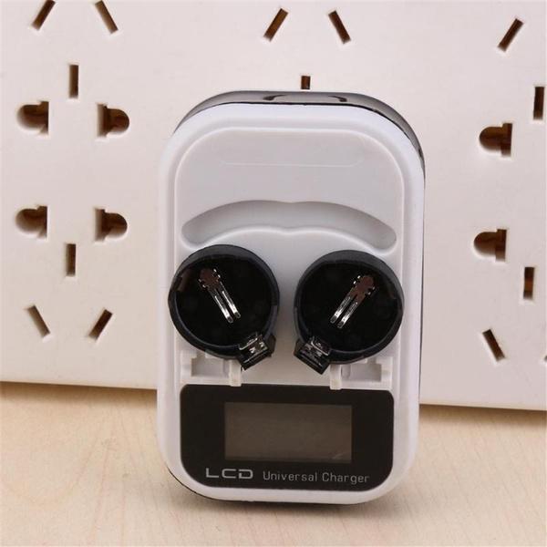 2slot, euplug, Battery, charger