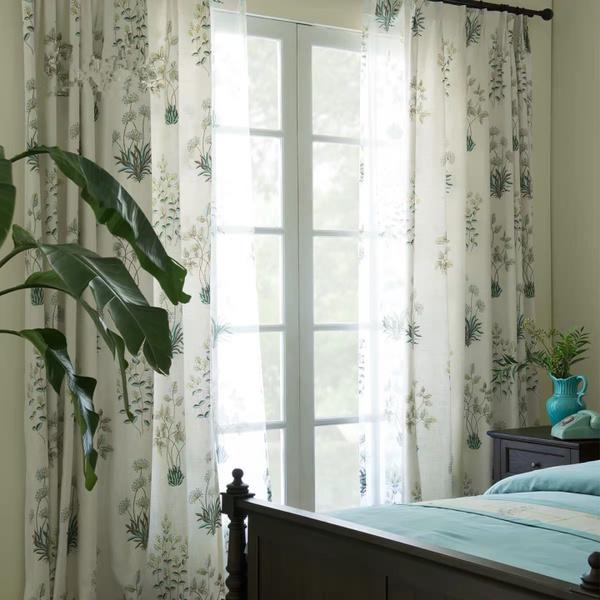 bedroomcurtain, Plants, Home Decor, freshcurtain