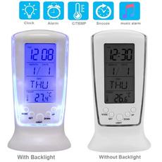 Alarm Clock, thermometerclock, snoozeclock, deskclock