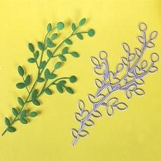 punchstencil, diyart, leafcuttingdie, Metal