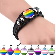 Charm Bracelet, rainbow, Jewelry, gay