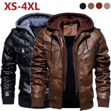 motorcyclejacket, collar slim, Fashion, Coat