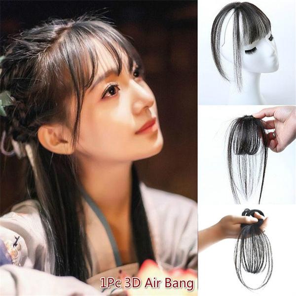 wig, hairtopper, Fashion, airbang