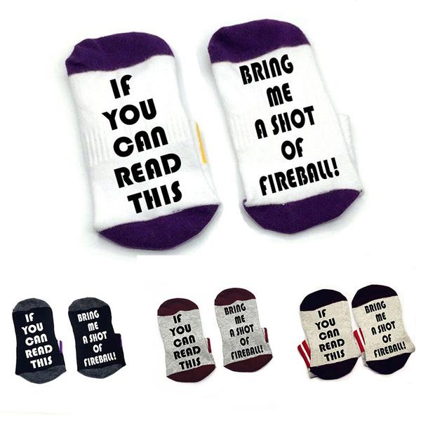 bringmeashotoffireball, ifyoucanreadthi, Cotton Socks, Cotton