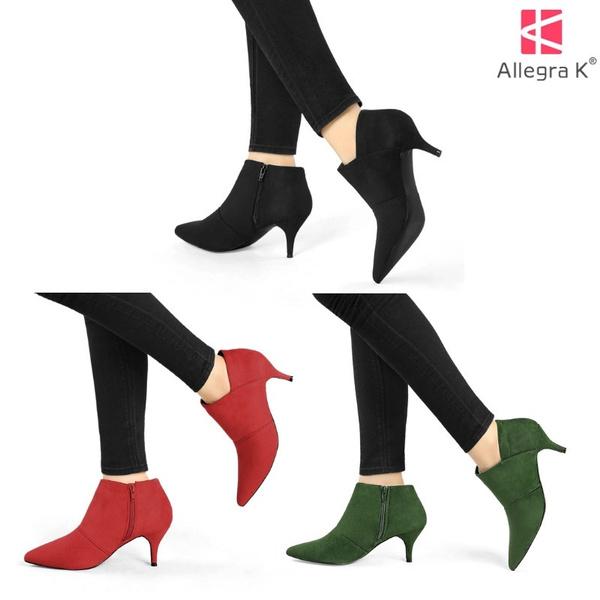 anklebootsforwomen, Heels, stilettoheelsshoe, casualbootsforwomen
