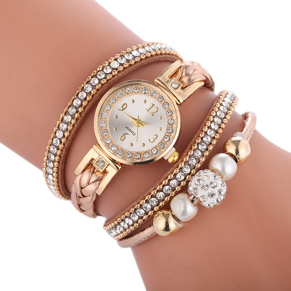 Fashion, leather strap, Dress, Round Watch