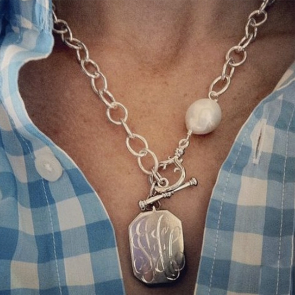 Fashion, Jewelry, 925 silver necklace, claviclenecklace