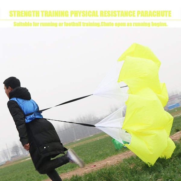Speed Resistance Training Parachute Running Chute Football Sports Exercise WF