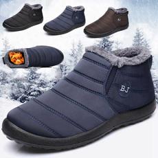 Mens Boots, Cotton, Winter, Waterproof