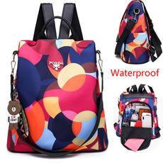 Outdoor, Female, Waterproof, antitheft