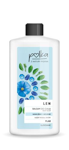 Body Lotion, Polkas, Flax, lotion
