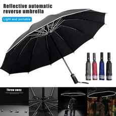 Umbrella, windproofumbrella, umbrellawithreflectivestrip, outdoortravelumbrella