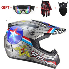 motorcycleaccessorie, Helmet, dirtbikemenfullfacehelmet, Cross