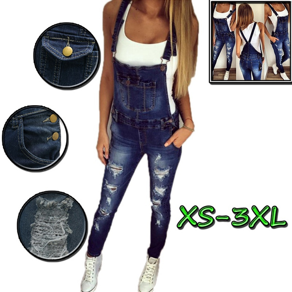Jeans, Women Rompers, Fashion, Elastic
