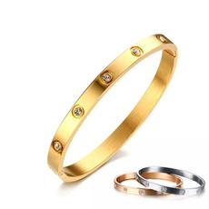 couplesbracelet, Steel, titanium steel, Jewelry