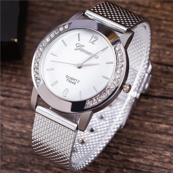 Fashion, Dress, analogwatche, Round Watch