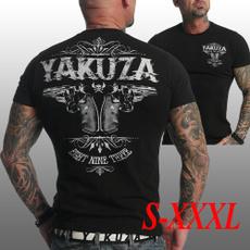 yakuzatshirt, 2019newshirt, Fashion, yakuza