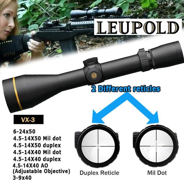 sniperscope, leupoldreticle, airgun, leupoldriflescope