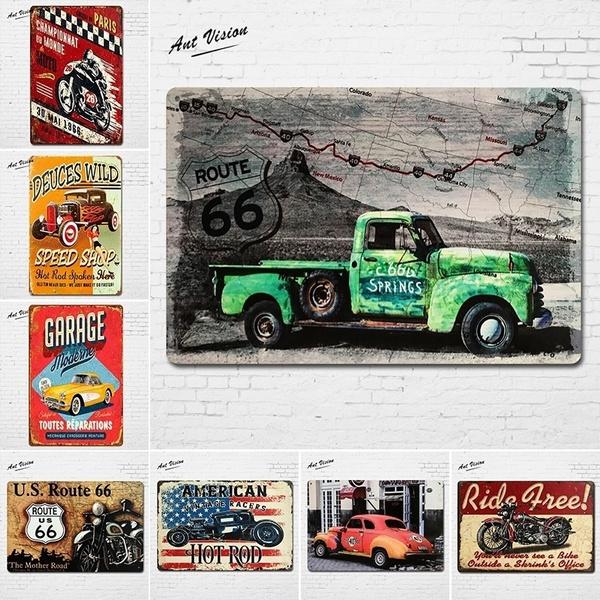 route66, Decor, Home & Living, Vintage