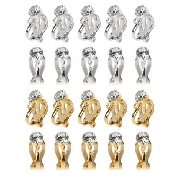 goldplated, earclipforwomen, Jewelry, womenearclip