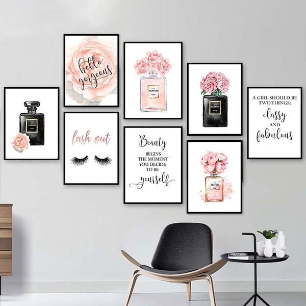 Perfume, Fashion, Wall Art, Beauty