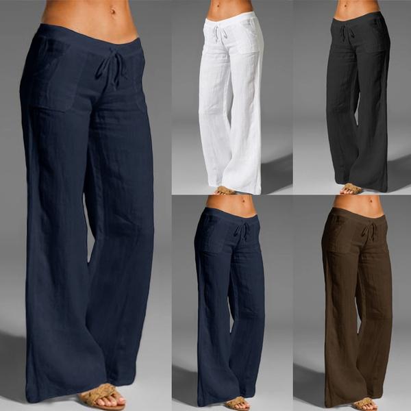 Cotton, elastic waist, cottonpant, Waist