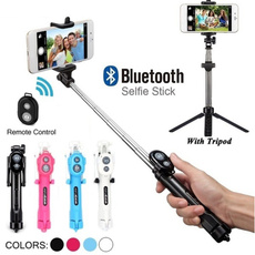 portableselfiestick, Mini, tripodtelescopicrod, Aluminum