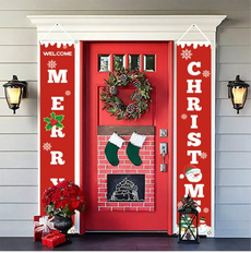 xmasdecor, Outdoor, Door, Christmas