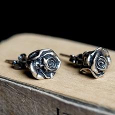 Sterling, Goth, Silver Earrings, Sterling Silver Earrings