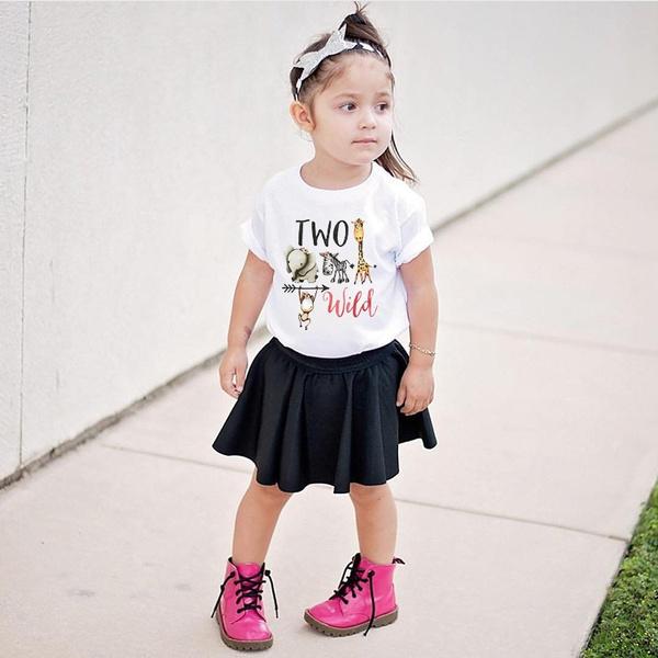 kidstopstshirt, twowildshirt, babytshirt, babytoddlerclothingkidssummertshirt