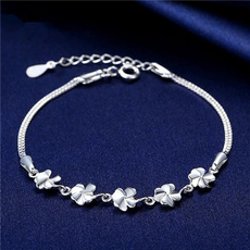 Sterling, Clover, Fashion, 925 sterling silver