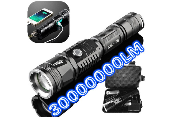 New Oex Rechargeable CREE Torch
