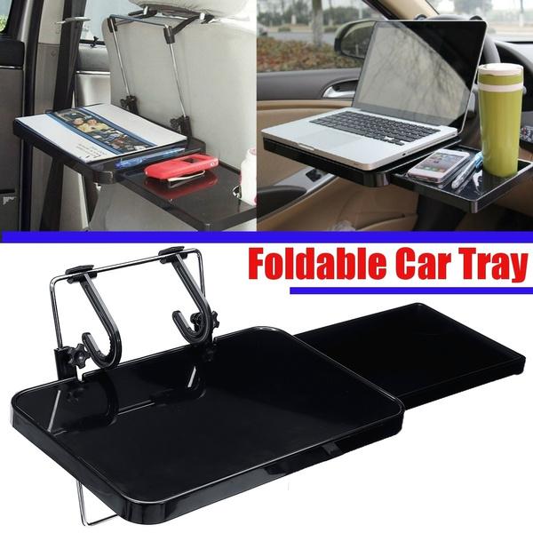 Foldable Car Back Seat Tray Laptop, Car Seat Laptop Tray