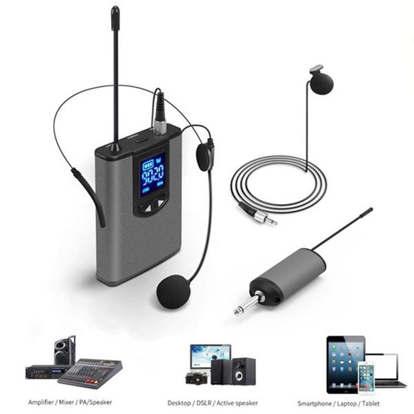 Headset, Microphone, Set, Mini