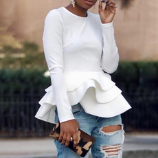 blouse, Fashion, long sleeve blouse, Necks