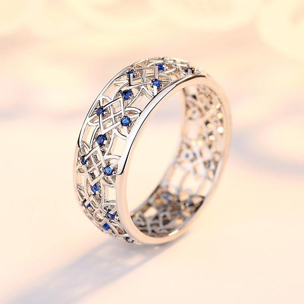 Wedding, Jewelry, 925 silver rings, Bride