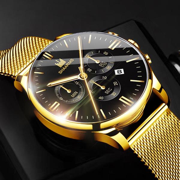 quartz, Casual Watches, Waterproof, businesswatche