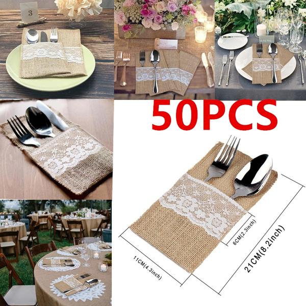 cutlerypocket, tablewarebag, Lace, tablewaremat