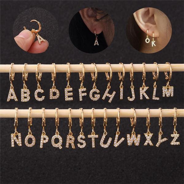 Dangle Earring, Jewelry, gold, dangleroundhoopearring