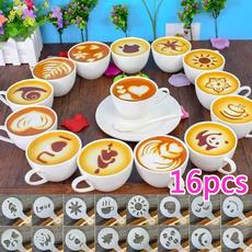 Coffee, stencil, homeampoffice, stencilmold