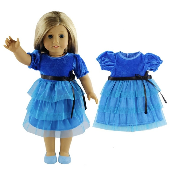 Blues, bonecaroupa, doll, Dress