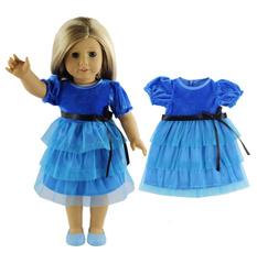 Blues, bonecaroupa, doll, Dress