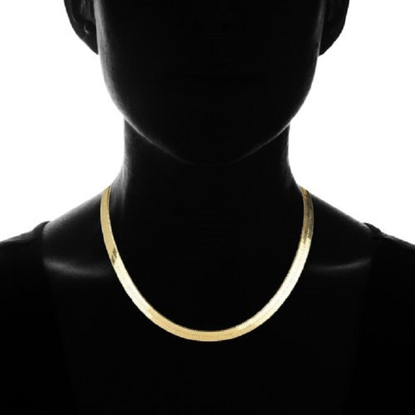 goldplated, Chain Necklace, Jewelry, Chain