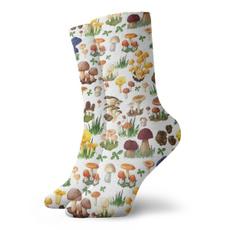 wintersock, Garden, Mushroom, Nature