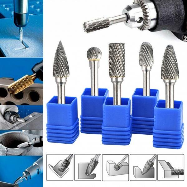 Drill Bits, Head, carbiderotarytoolset, rotaryfile