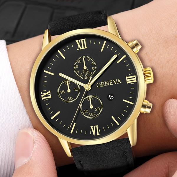 dial, Fashion, chronographwatch, Geneva