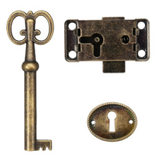 Antique, case, Door, doorlock