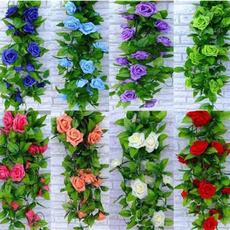 rosegarland, Decor, Flowers, Home Decor